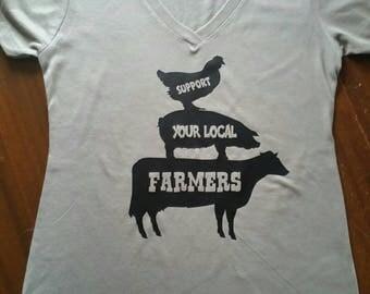 Support local farmers, farmers market