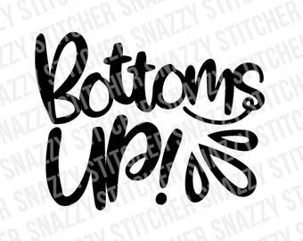 up Clip art bottoms