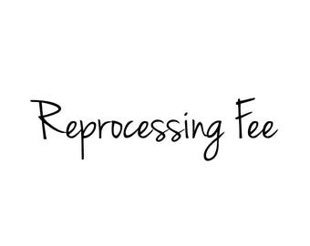 Reprocessing Fee