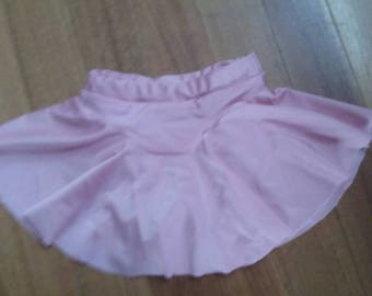 Pretty pink dance/skate skirt with knickers