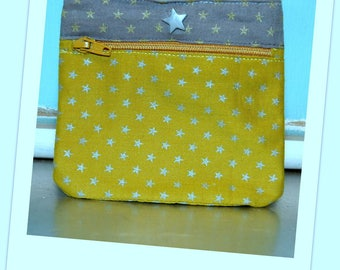 Pouch / clutch / wallet stars