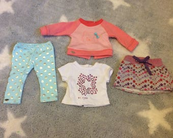 Lot of clothes from American Girl