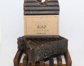 bareASH Coffee (Exfoliating) Goat Milk Soap