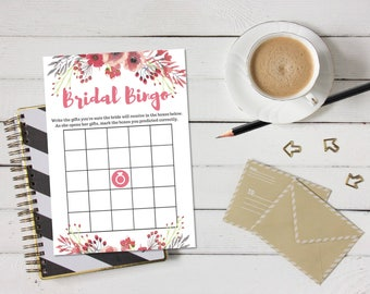 Bridal Bingo Gift-Guessing Shower Game