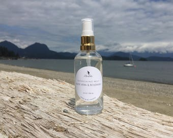 Aloe Vera & Rosemary Refreshing Mist. Handmade with only natural ingredients. 100 ml.