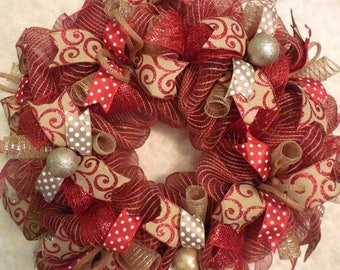 SALE Marquee wreath, Christmas Marquee, Christmas Marquee wreath, Merry Christmas Wreath, Christmas, Christmas Wreath, Red wreath