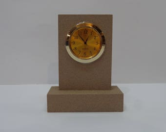 Desk Clock with Quartz Movement