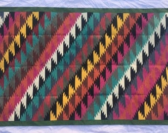 """8x5"""" cotton dhurrie rugs- hand woven 240*150 cm Pure cotton"""