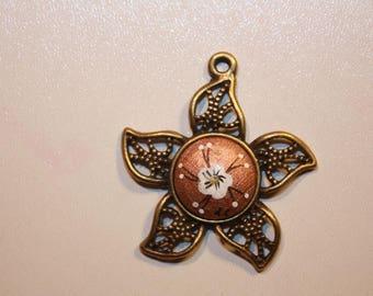 "Bronze pendant ""Sun"""