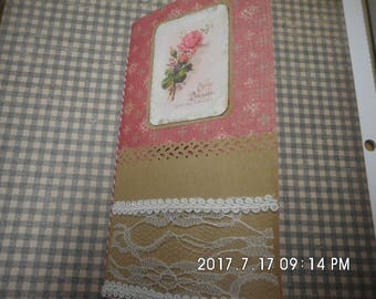 Blank Midori style insert handmade