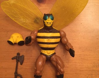 Masters of the Universe MOTU Buzz-Off Action Figure Complete FREE SHIPPING