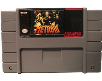 Metroid (Retro Metroid, Retroid), SNES Super Nintendo
