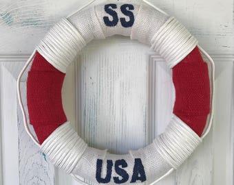 SS USA Mini Life Preserver