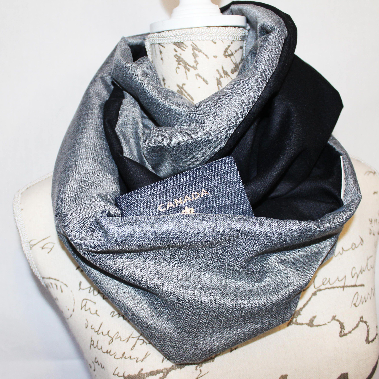 shutter alpaca infinity white grey scarf
