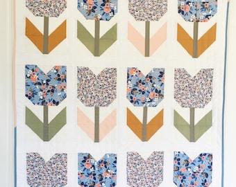 Rifle Paper Co. Tulip Quilt