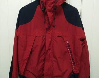 Rare Vintage POLO SPORTs RALPH LAUREN Embroidered Spell Out Jacket
