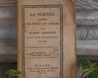 Small Vintage Book 1832