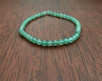 Green Aventurine Crystal Healing Stacking Bracelet