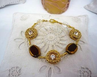Vintage flexible bracelet