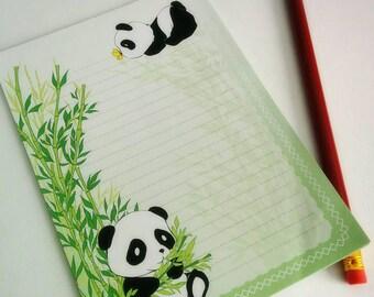 Panda note pad