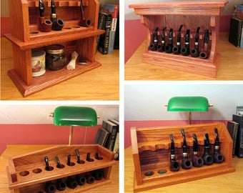 Smoking Pipe Rack Plan 4 Pack Build Your Own Craftsman Style Racks Save Over