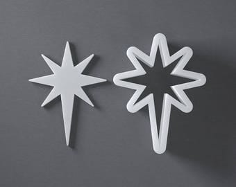 Betlehem star cookie cutter, Christmas cookies
