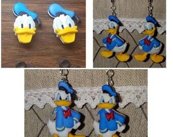 Disney Donald Duck Earrings