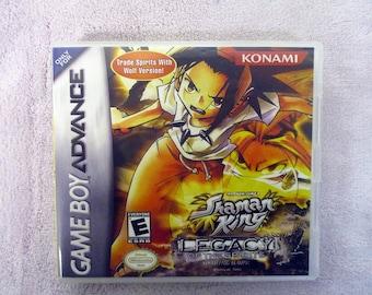Shaman King: Legacy of the Spirits Soaring Hawk  GBA - GameBoy Advance Custom Case (***No Game***)