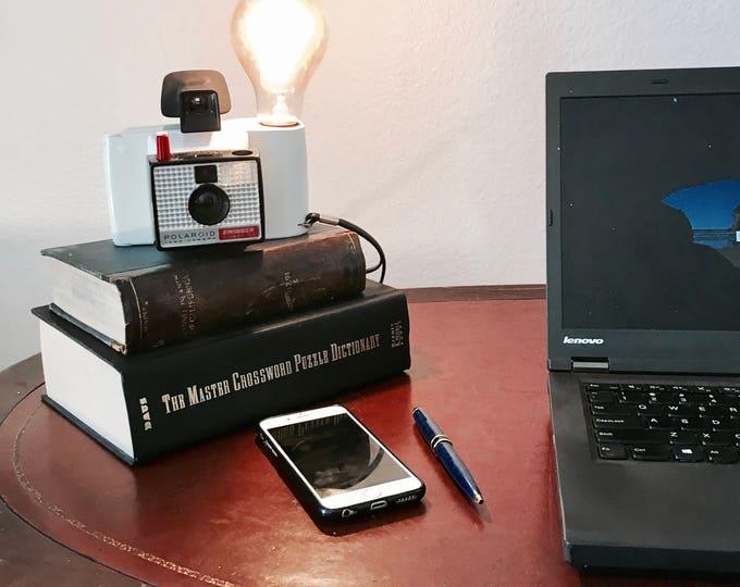Lamp. Lightning . Polaroid camera accent light. Perfct Gift for photographers