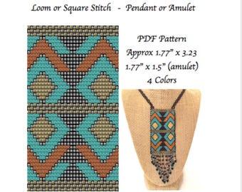 Bead Loom Pattern Aztec