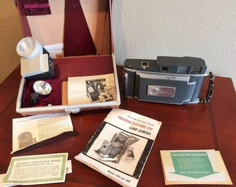 Vintage Polaroid Electric Eye 900 Camera