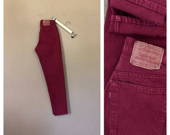 Waist 27/28 Levis High Waisted Jeans/90s Jeans/Vintage High Waisted Jeans/Mom Jeans/Acid Wash Jeans/Jordache Jeans/Guess Jeans