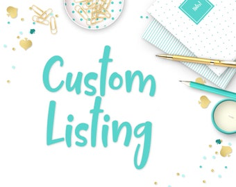 Special Custom - Party Stickers