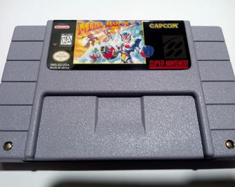 Mega Man X3 SNES (NTSC-US)
