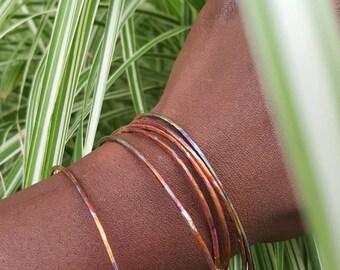 Bangles, Copper Bangles, Bracelets, Bangle Bracelets, Gifts for her