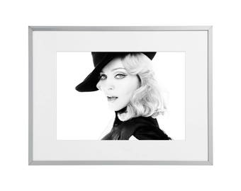 Madonna custom framed and mounted print 30 x 40 cm   12 x 16 inches   Art Poster Wall Artwork Décor  2