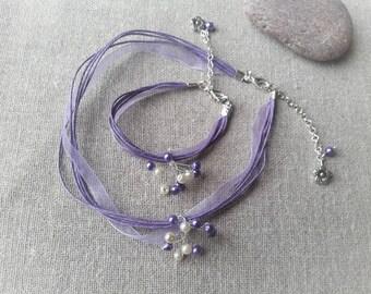 Ornament kids ornament set purple bridesmaid purple wedding