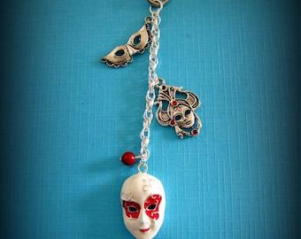 Bag jewel Venetian Carnival mask