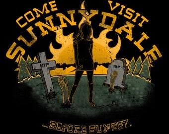 Buffy the Vampire Slayer Sunnydale T-Shirt - Come Visit Sunnydale