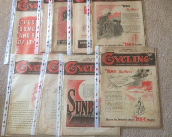 Cycling Magazines from during Second World War period