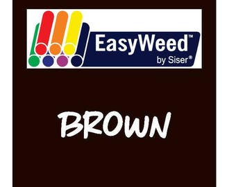 Siser EasyWeed Heat Transfer Vinyl - HTV - Brown