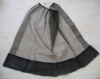 Mourning veil, 19th century
