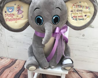 Elephant toothfairy keepsake