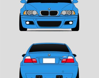 BMW E46 // M3 // Third Generation M3 // BMW 3 Series /