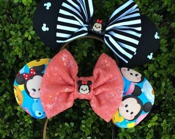 Tsum Tsum inspired Disney Ears