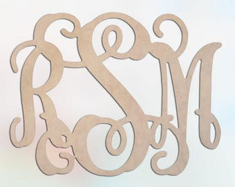 Customized Wood Monograms, Monograms, Wooden Monograms,