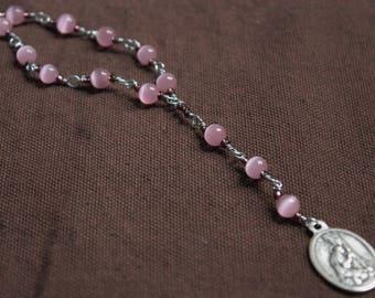 St. Mary Magdalene Chaplet - Penitent Pink