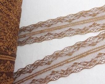 1 meter stripe Brown 4 centimeters in width approx