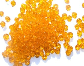 Large seed beads 6/0 Translucides [Sun] x10grs