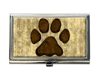 Paw Power Business Credit Card Holder Case